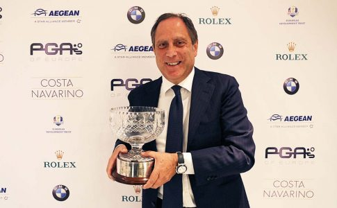 Italy's Di Ponziano Honoured With Christer Lindberg Bowl
