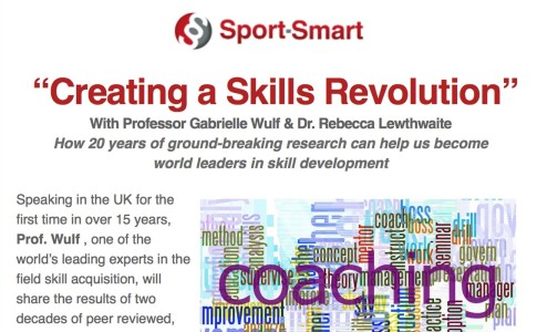 "CPD: ""Creating a Skills Revolution"" Sport-Smart, 9 July"