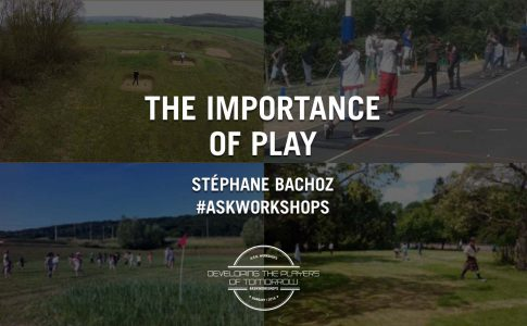 The Importance of  Play: Stéphane Bachoz – A.S.K. Workshops