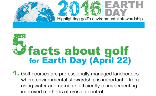Ten Facts About Golf In Celebration Of Earth Day 20162 Min Read