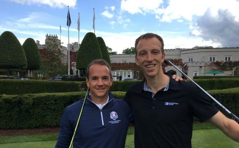 Murray & Dunstan Pair Up For 200 Mile Ryder Cup Run