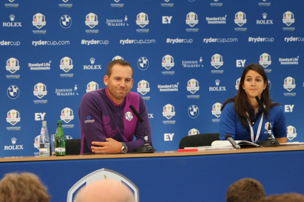 PGAs of Europe - Ryder Cup - Sergio Garcia Press Conference_m