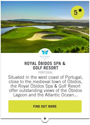 Royal Obidos Spa and Golf Resort - Confederation of Professional Golf Travel Club