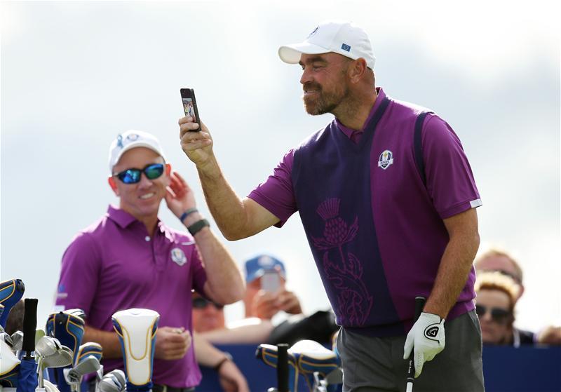 Thomas Bjorn Smartphone Ryder Cup