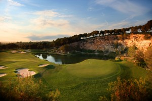 Confederation of Professional Golf - Lumine Hills 18th_sm