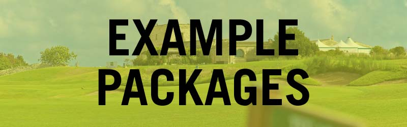 Example Packages - Acaya Golf Resort and Spa