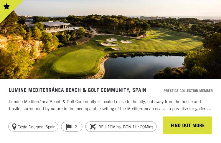 Lumine Mediterranea Beach and Golf Community - Confederation of Professional Golf Travel Club