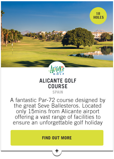 Alicante Golf - Confederation of Professional Golf Travel Club