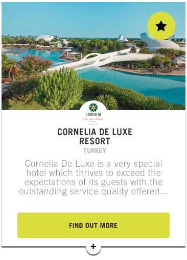 Cornelia De Luxe Resort - Confederation of Professional Golf Travel Club