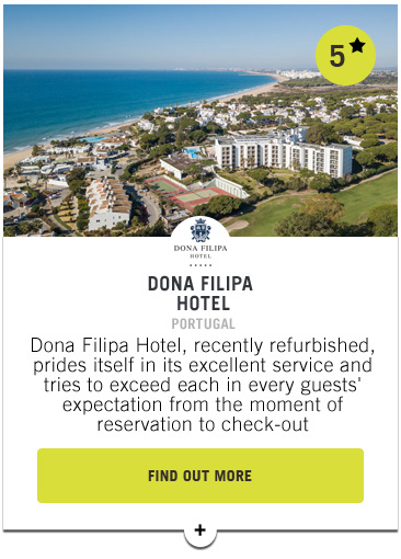 Dona Filipa Hotel - Confederation of Professional Golf Travel Club