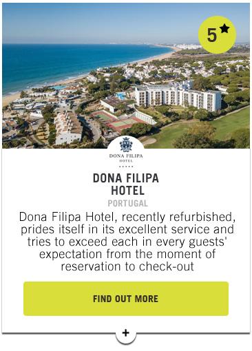 Dona Filipa Hotel - Confederation of Professional Golf Travel Club
