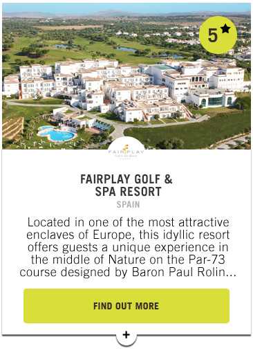 Fairplay Resort Golf and Spa - PGAs of Europe Travel Club