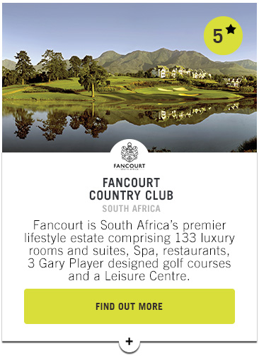Fancourt Country Club - PGAs of Europe Travel Club