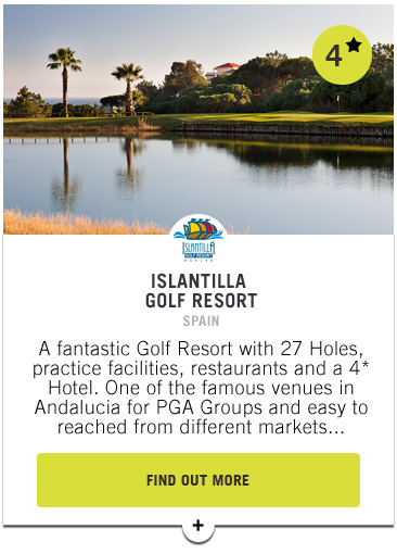 Islantilla Golf Resort - Confederation of Professional Golf Travel Club