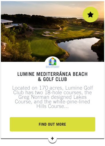 Lumine - Confederation of Professional Golf Travel Club