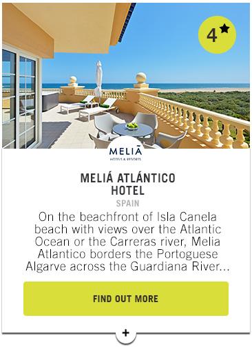 Melia Atlantico Hotel - Confederation of Professional Golf Travel Club