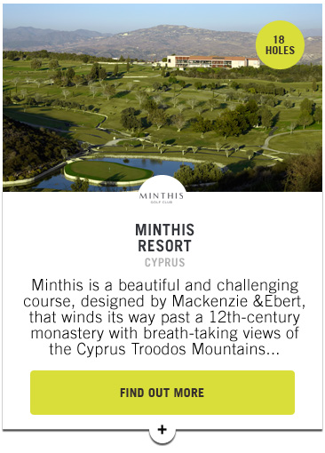 Minthis Resort - PGAs of Europe Travel Club