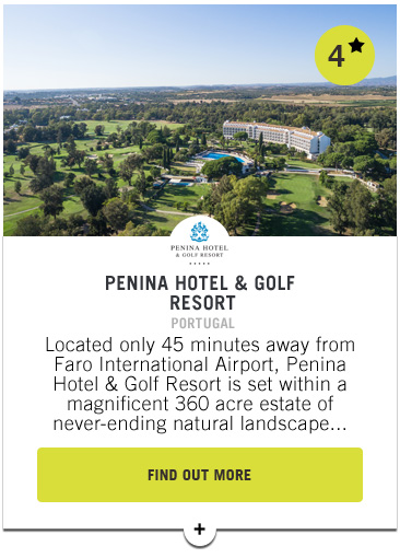 Penina Hotel & Golf Resort - Confederation of Professional Golf Travel Club