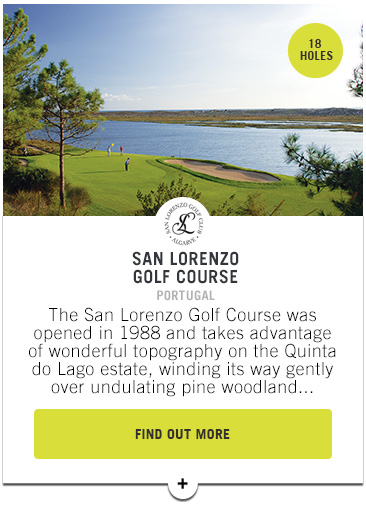 San Lorenzo Golf Course - Confederation of Professional Golf Travel Club